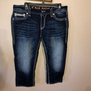Rock Revival jeans with sparkly pockets